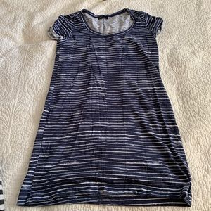 GAP Striped Tee Shirt Dress